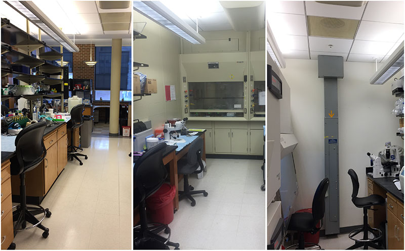 Our lab is finally fully functional and experiments are underway! (Dec 5, 2016)